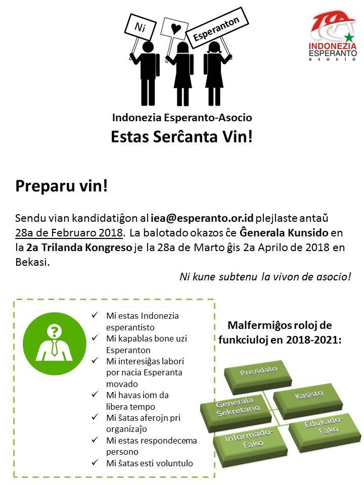 IEA Serĉanta Vin 2018